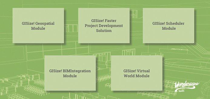 gisize-modules