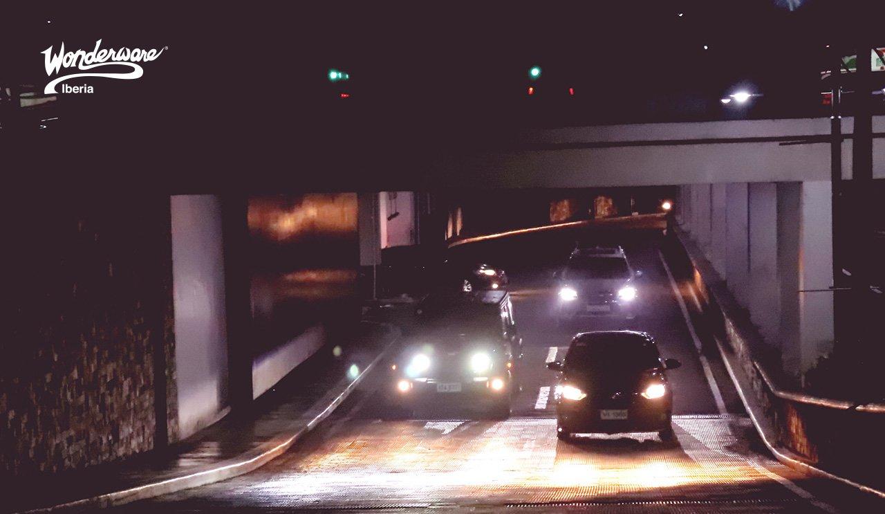 paneles de señales para túneles y autopistas